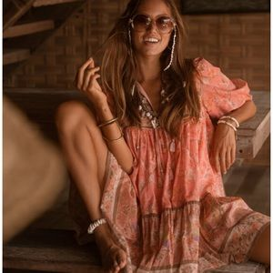 Spell & The Gypsy Seashell Boho Mini Dress